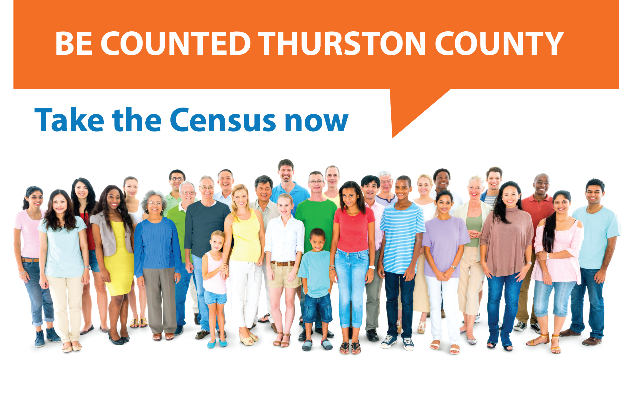 LINK: Be Counted Thurston County, take the census now